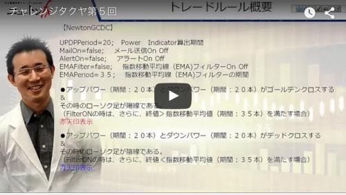 ニュートンFXロジック公開動画