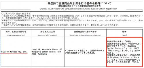 金融庁無登録業者2