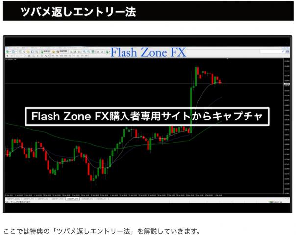 flashzonefxツバメ返しエントリー法