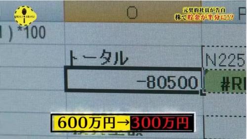 1日で8万円の負けを喫したニート