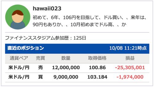 hawaii023含み損