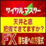FXサイクルマスター【検証とレビュー】