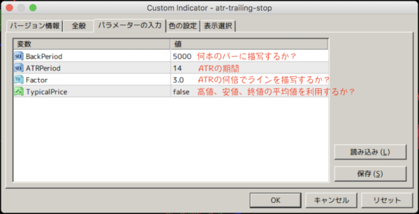 atr-trailing-stop.mq4|パラメーター