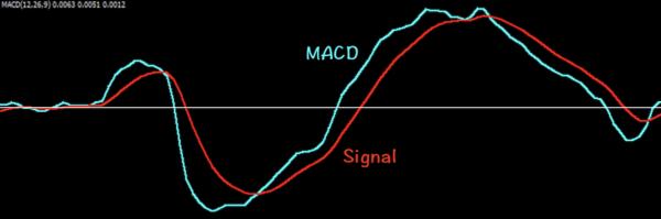 MACDとSignalのみを表示