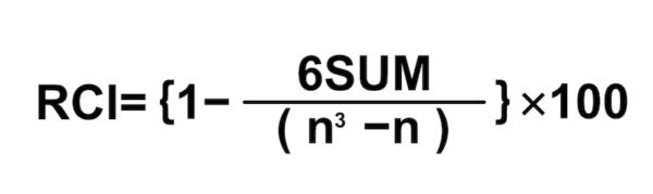 RCIの計算式|その1