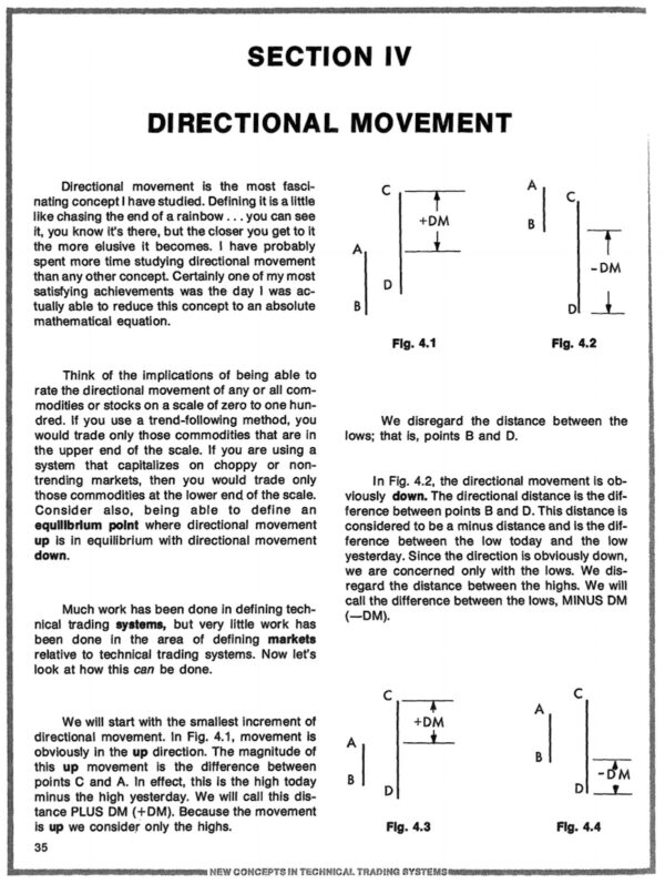 The Directional Movement Concept|The Directional Movement System