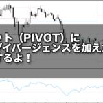ピボット(PIVOT)にRSIダイバージェンスを加えた手法、紹介するよ!