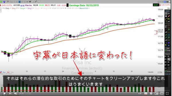 You Tube動画の英語解説を日本語字幕で観る